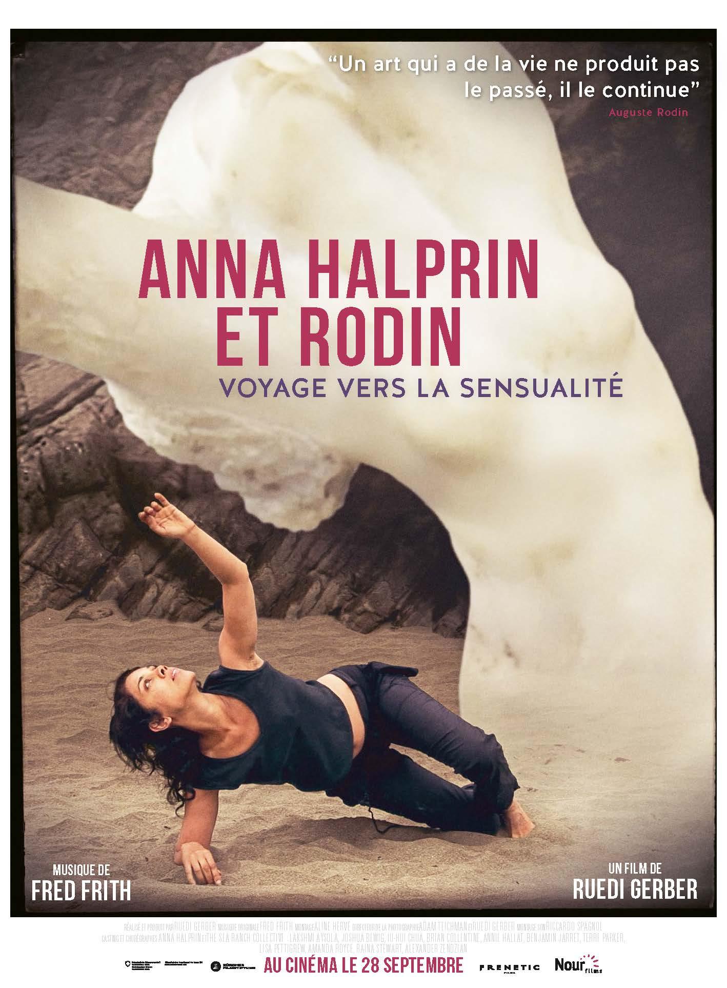Affiche Anna Halprin